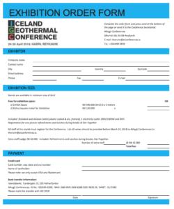 Application form for Sponsorship